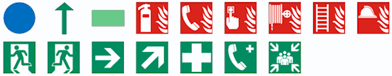 Escape Plan Symbols